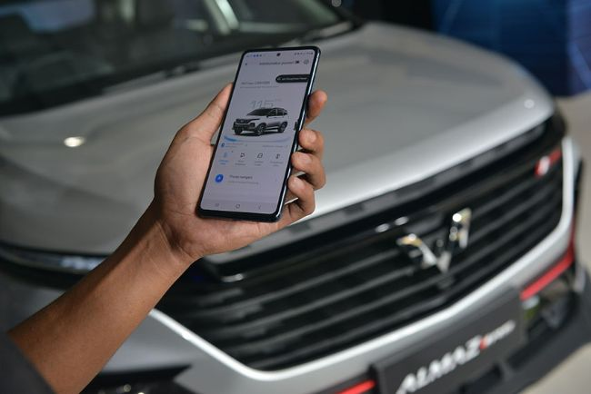 Wuling Almaz RS Internet of Vehicle