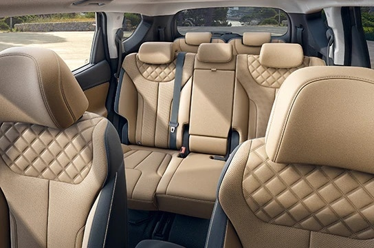 Interior Hyundai New Santa Fe