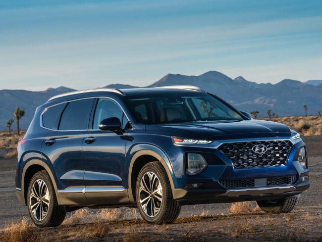 Hyundai Santa Fe 2018 - 2020