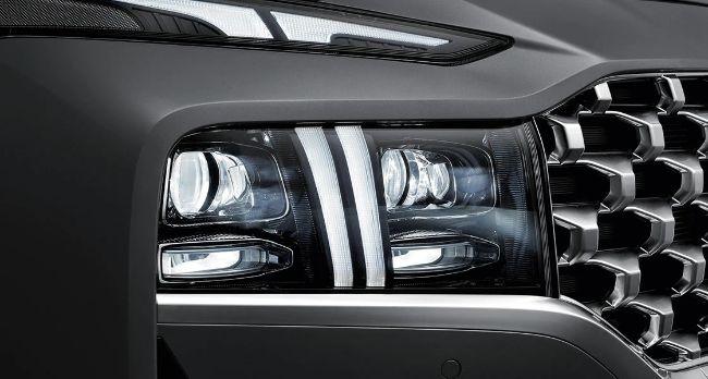 grille Hyundai New Santa Fe