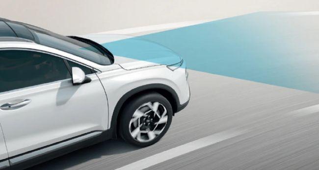 Fitur keselamatan LKA Hyundai New Santa Fe