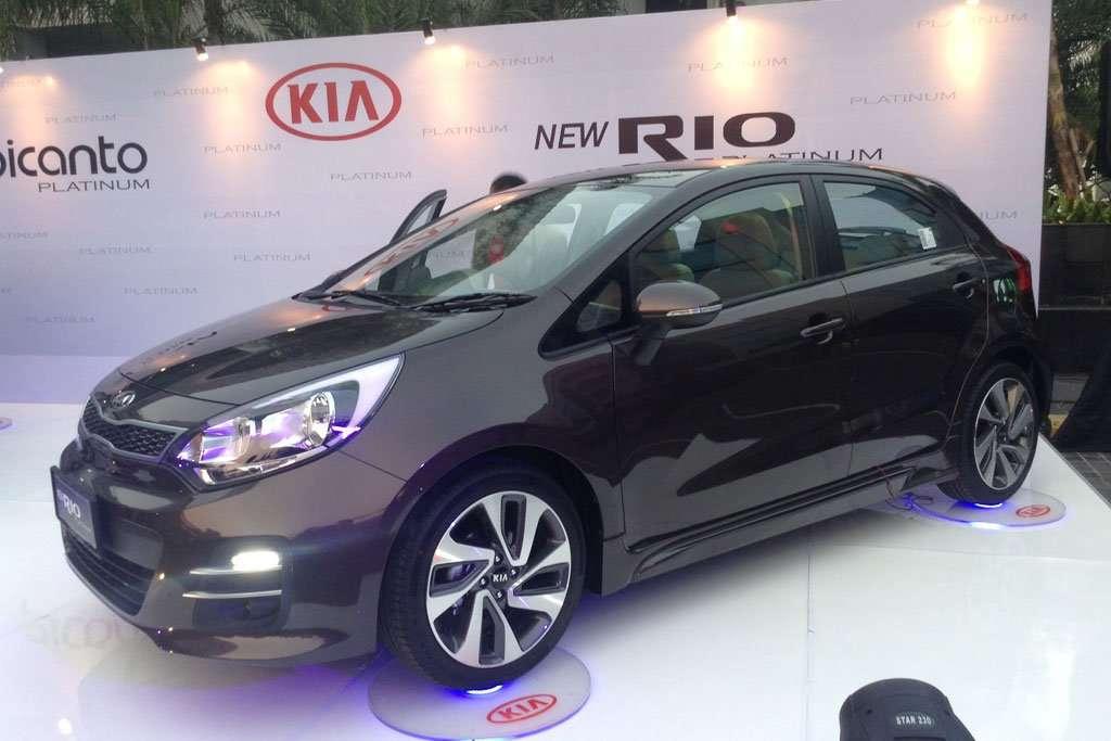 Ini Harga New Kia Picanto dan Rio Platinum
