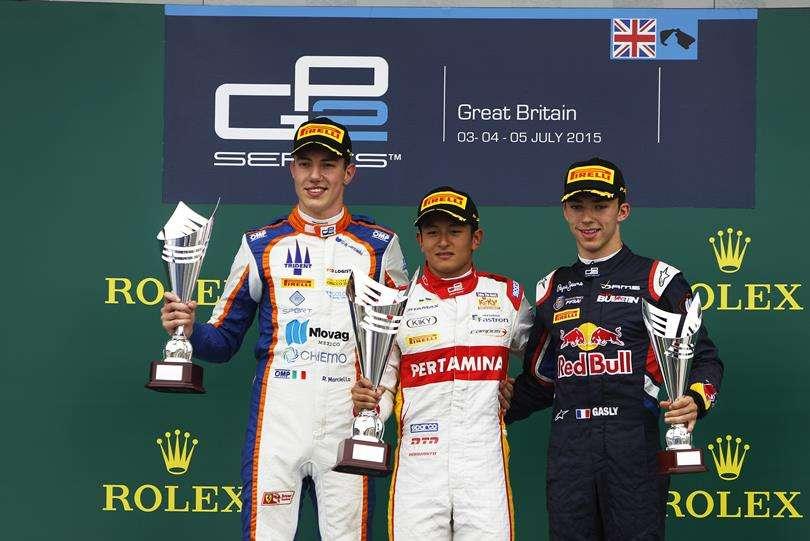 Juara Lagi, Rio Haryanto Kumandangkan Indonesia Raya di Silverstone