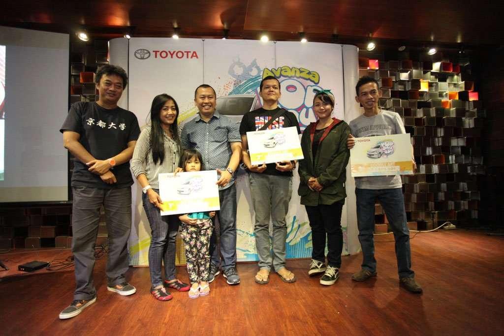 Avanza Pop You Up Meriahkan Bandung