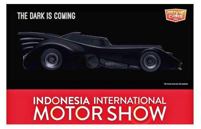 IIMS 2015 Bakal Boyong Replika Mobil Batman
