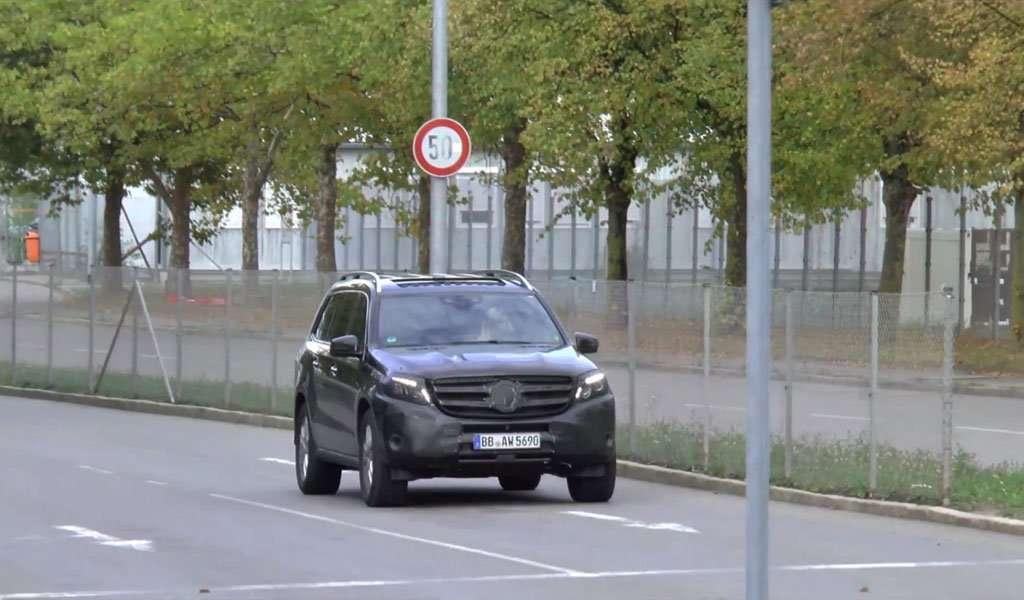 Mercedes-Benz GLS Bakal Jadi SUV Limousine?