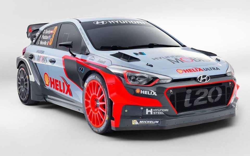 Kendaraan Tempur Baru Hyundai di WRC 2016