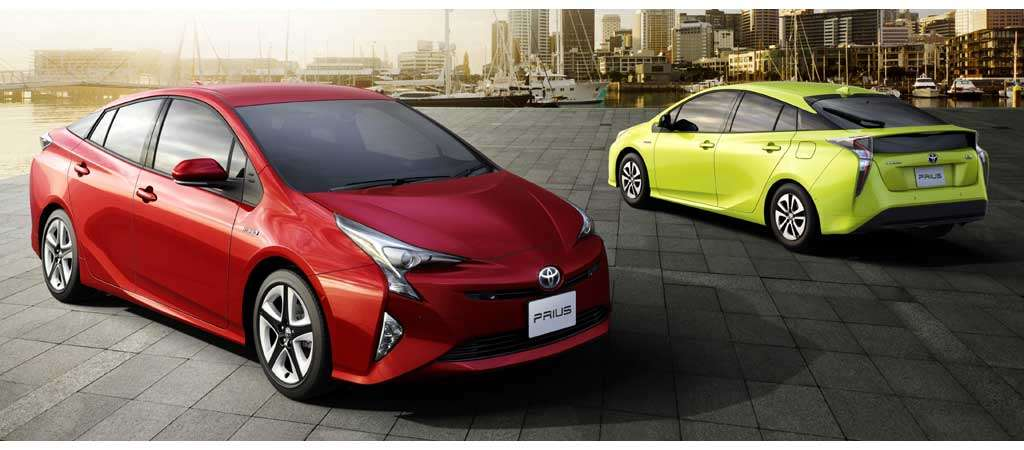 Toyota Prius 2016 Konsumsi BBM 40,8 km/liter