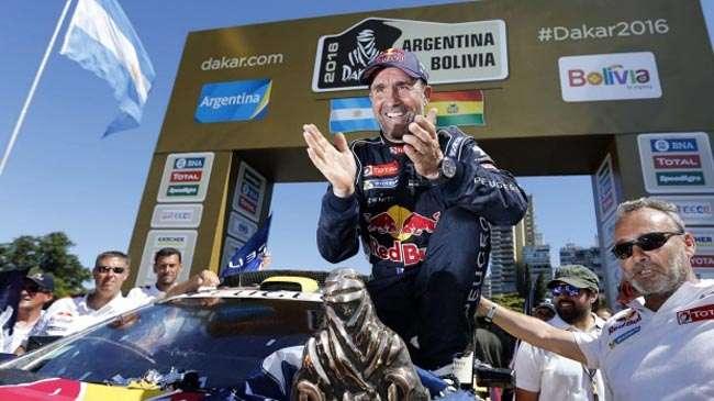 Peterhansel dan Peugeot Jawara Reli Dakar 2016