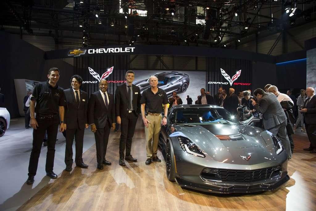 New Corvette Grand Sport, Harta Karun di Geneva