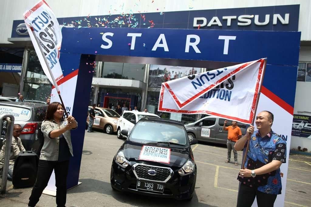 Datsun Risers Expedition Jalani Etape ke-2 Medan dan Riau