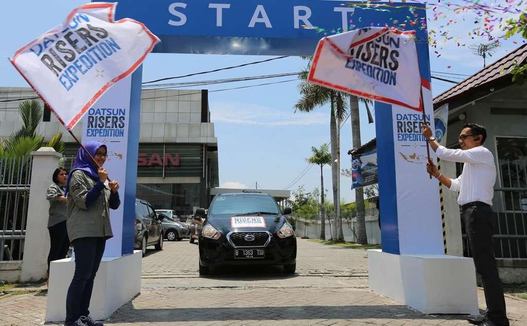 Datsun Risers Expedition Etape III, Eksplorasi Riau dan Padang