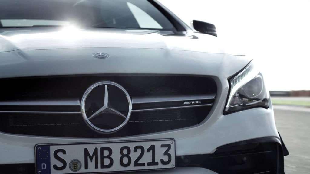 Video: Teaser Mercedes-AMG CLA 45 Facelift