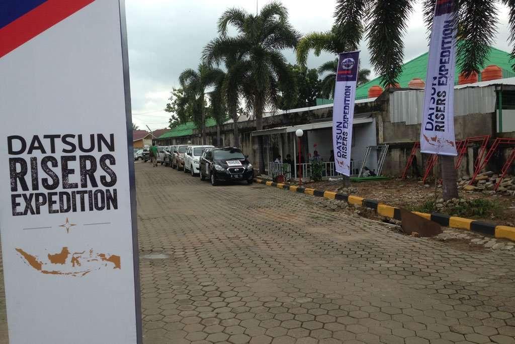 Datsun Risers Expedition Lakoni Etape Terakhir Palembang - Jakarta