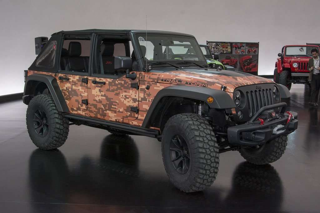 Garansindo Luncurkan Jeep Wrangler Trailstorm di IIMS 2016