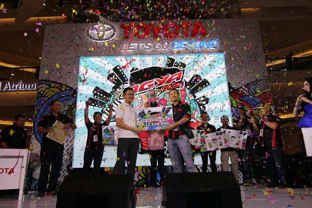 Toyota Agya Show Off, Ajang Kreatifitas Pemilik Astra Toyota Agya
