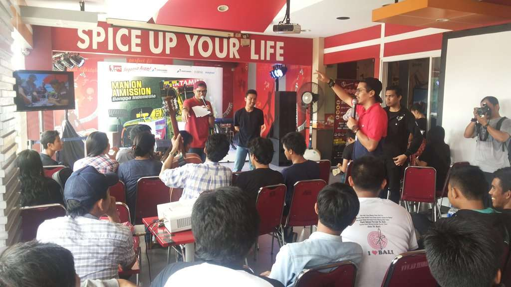 Nobar GP2 Series di KFC Lenteng Agung