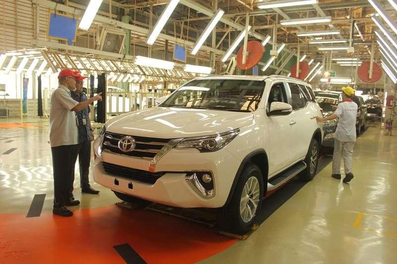 Meski Resesi Ekonomi, Ekspor Toyota Indonesia Terus Tumbuh