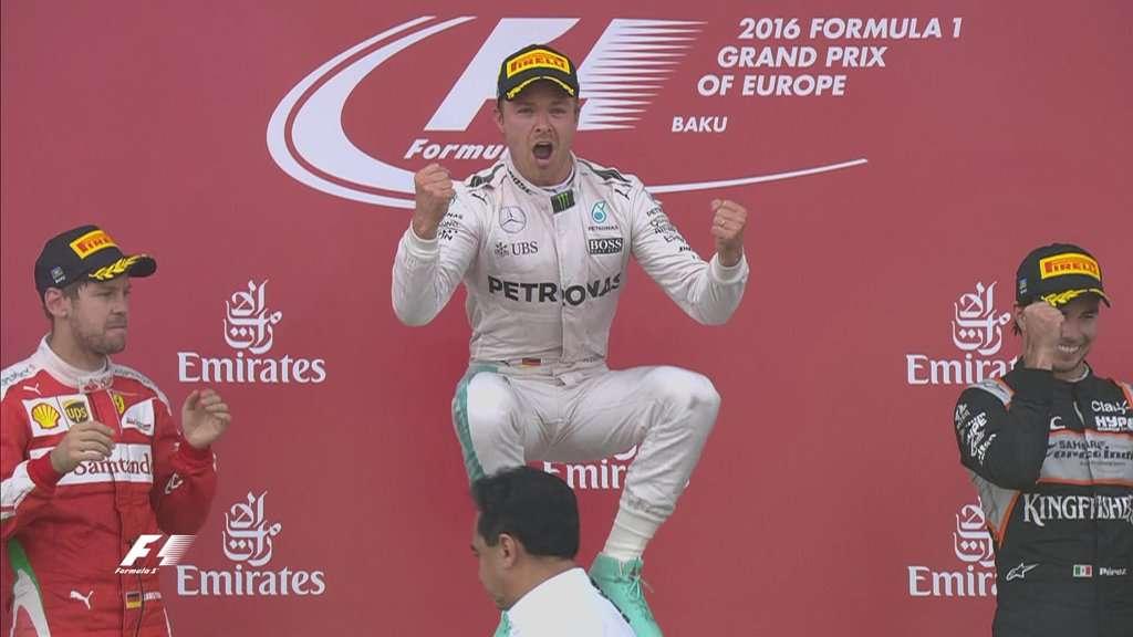 Rosberg dan Mercedes Makin Perkasa di Puncak Klasemen