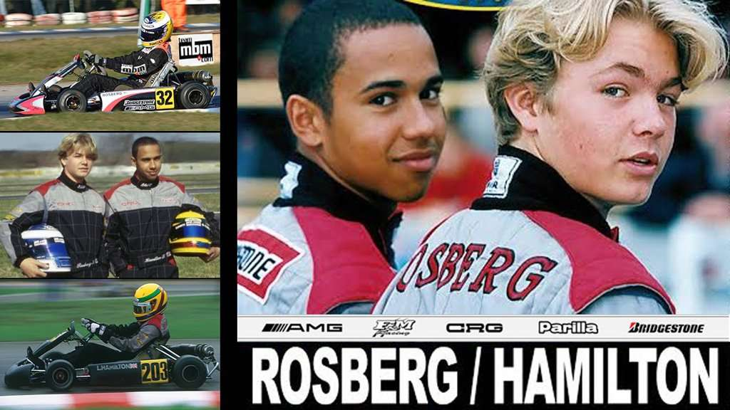 Video: Rosberg dan Hamilton Waktu di Gokart