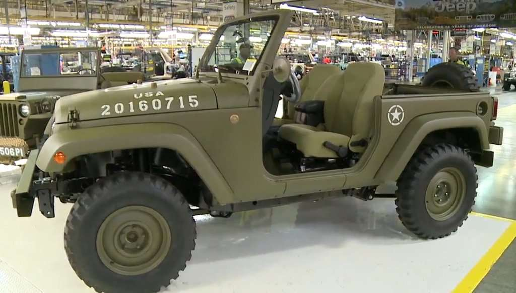 Jeep Perkenalkan Wrangler 75th Salute Concept