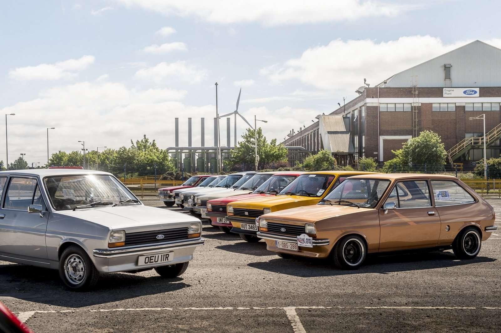 Ford Fiesta Ultah ke-40, Fans Gelar Konvoi