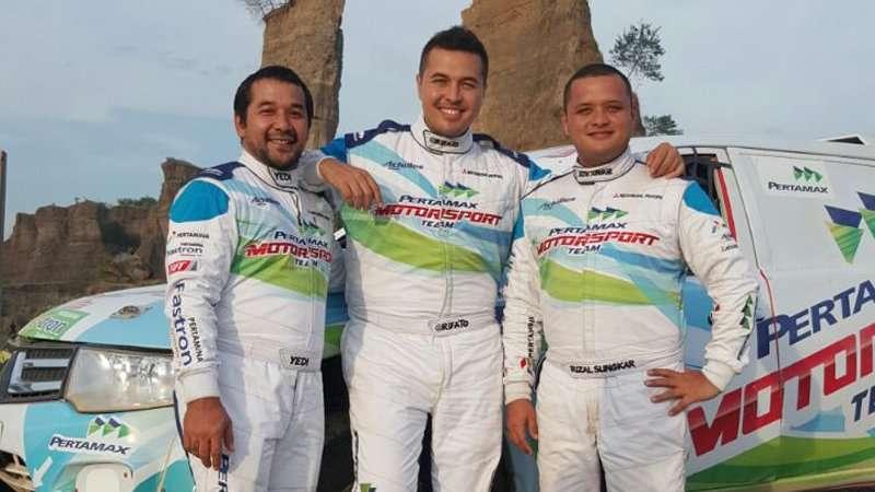Tim Offroad Pertamax Motorsport Siap Jajal Track Paramount