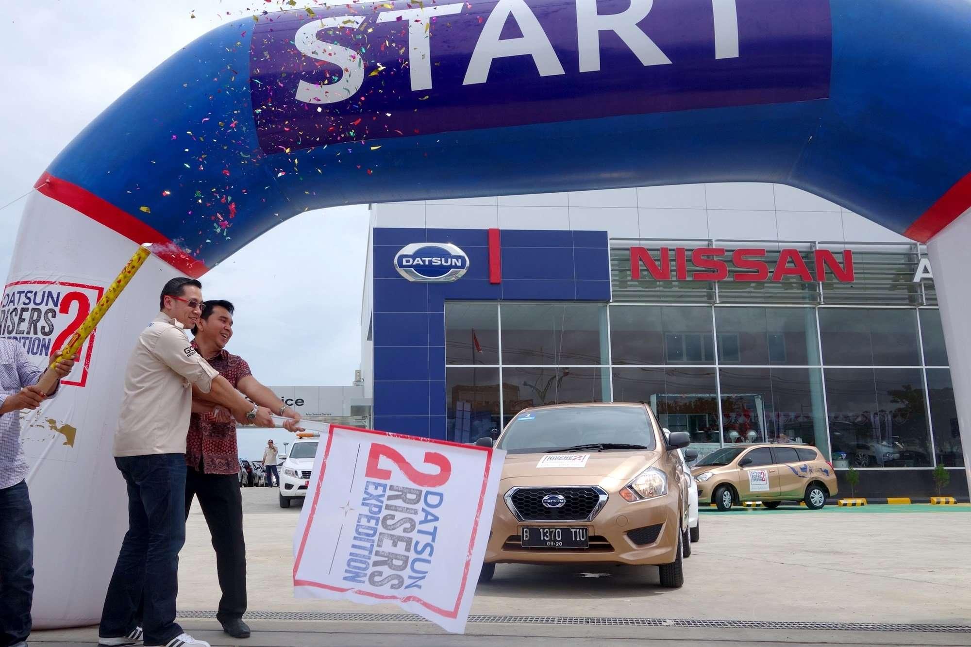Datsun Risers Expedition 2 Dimulai di Tanah Rencong