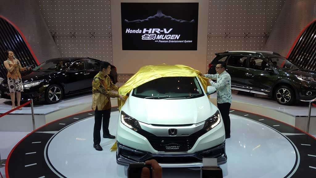 Honda HR-V Mugen Diperkenalkan di GIIAS Surabaya Auto Show 2016