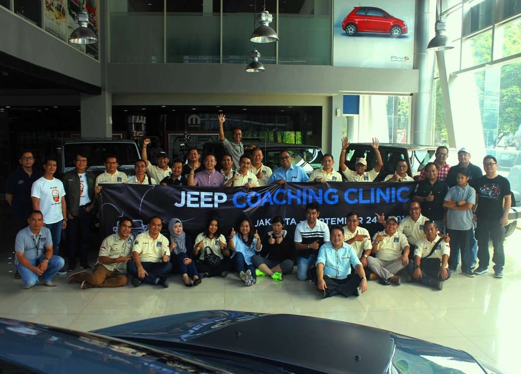 Garansindo Gelar Coaching Clinic Bagi Pemilik Jeep Wrangler