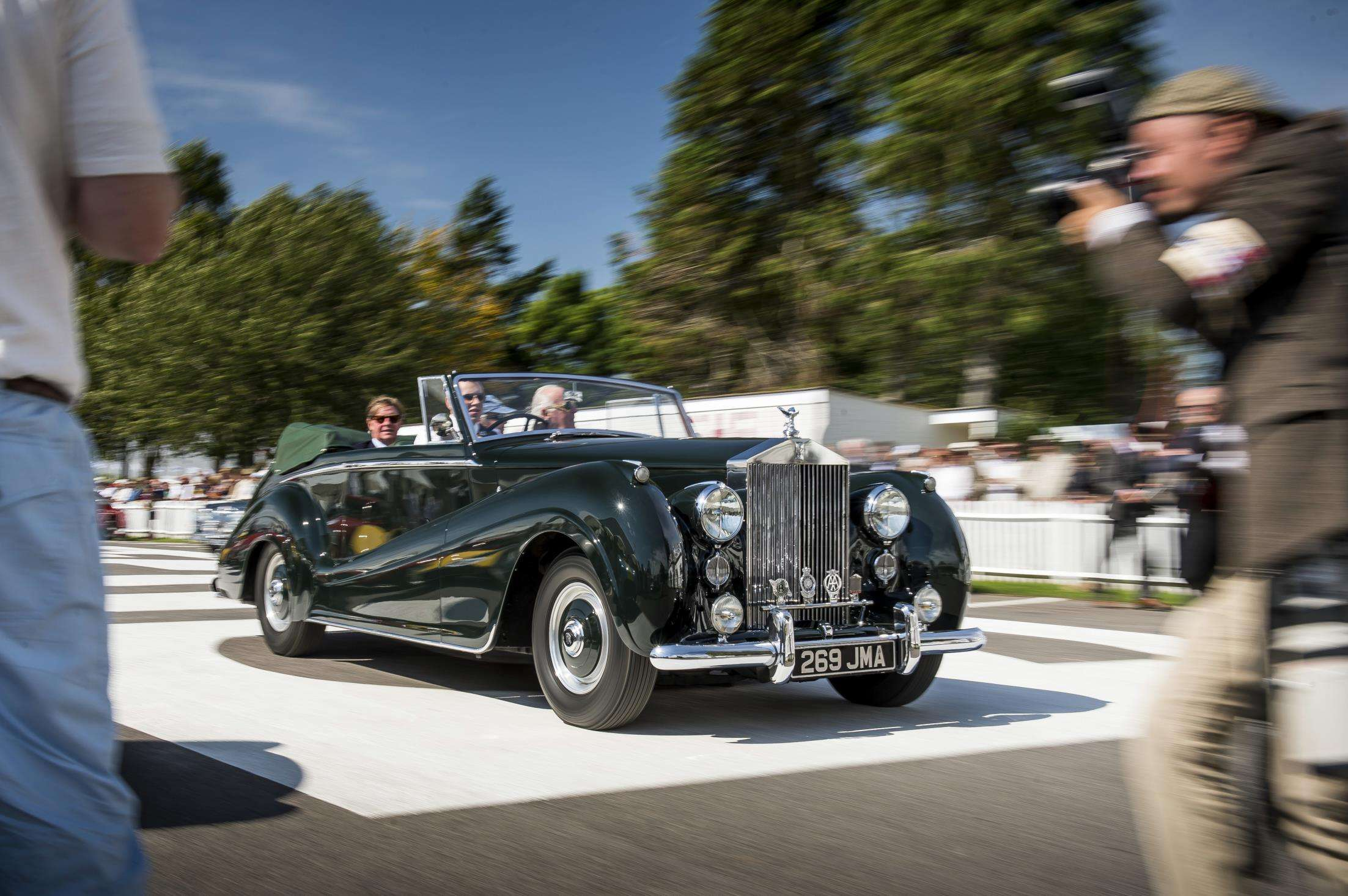 Rolls-Royce Berusia 113 Tahun Hadir di Goodwood Revival 2016