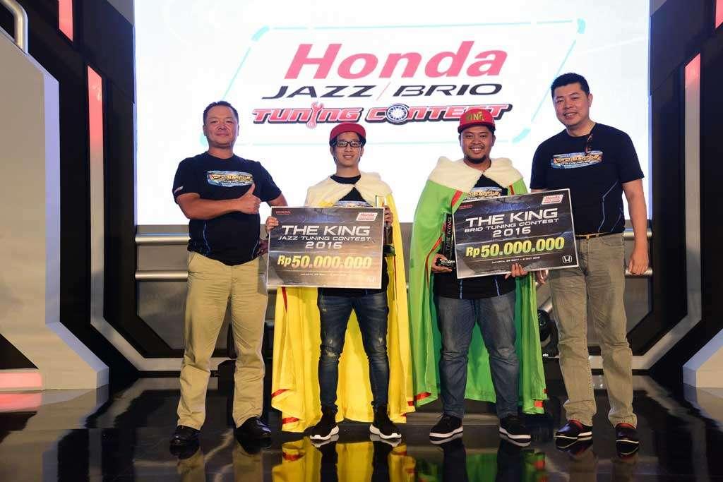 Deny Kristianto dan Akta Kusuma, Juara Honda Tuning Contest 2016