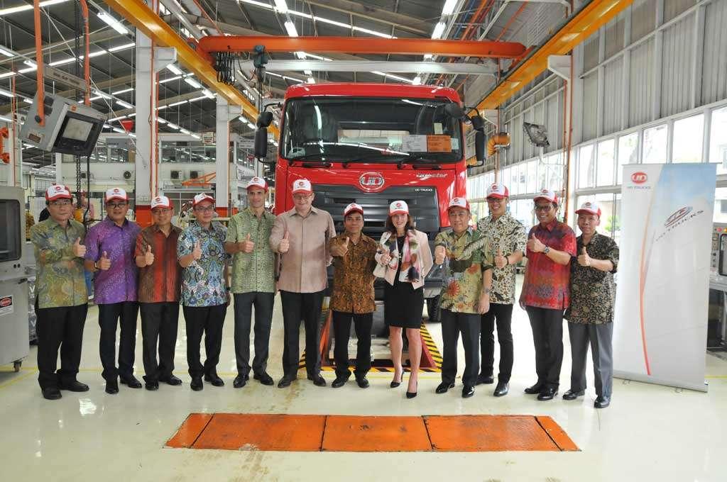 UD Trucks Buka Pabrik Perakitan Truk Senilai US$ 3 Juta