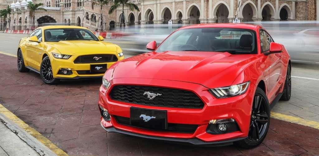 Bocoran Calon Ford Mustang Terbaru, Pakai Hybrid dan AWD