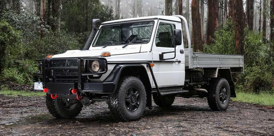 Mercedes-Benz G-Class Pick-Up Dijual di Australia