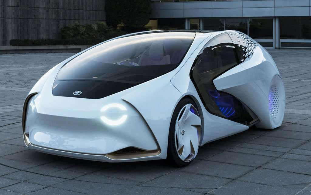 Toyota Concept-i, Mobil Pintar Toyota Lakoni Debut di CES 2017