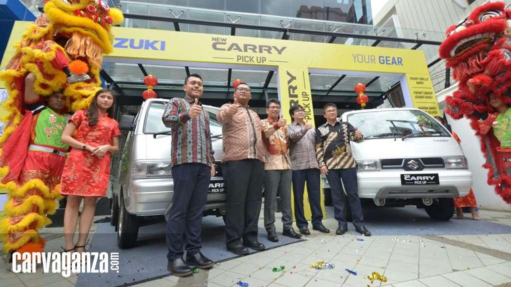 Suzuki Luncurkan New Carry Pick Up Andalan Para Pengusaha