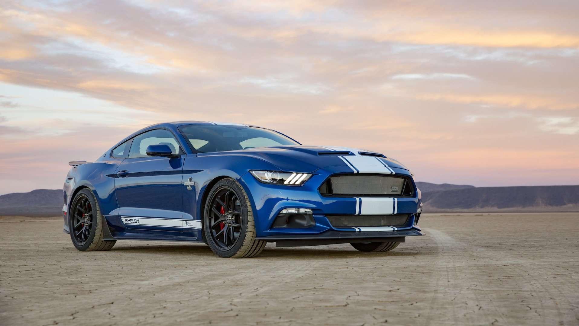 Shelby Mustang 50th Aniversary Super Snake Hanya Diproduksi 500 Unit