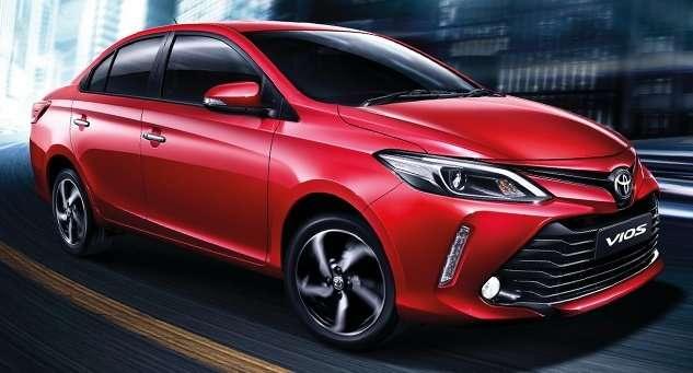 Toyota Vios Facelift Meluncur di Thailand, Perubahan di Eksterior