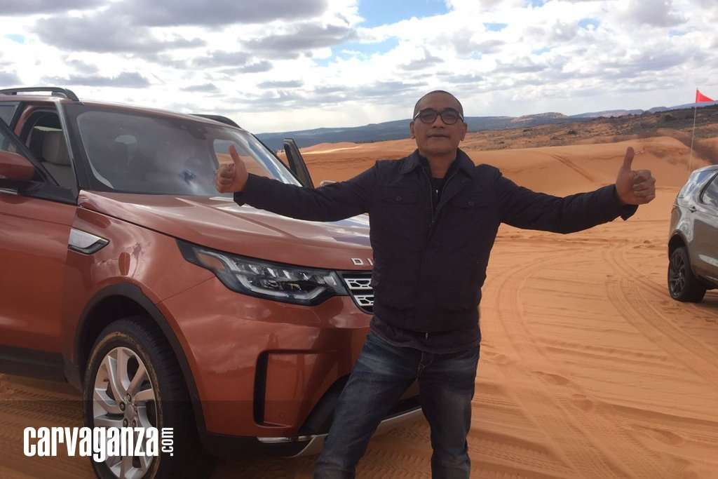 Menyiksa Land Rover All New Discovery di Coral Pink Sand Dunes