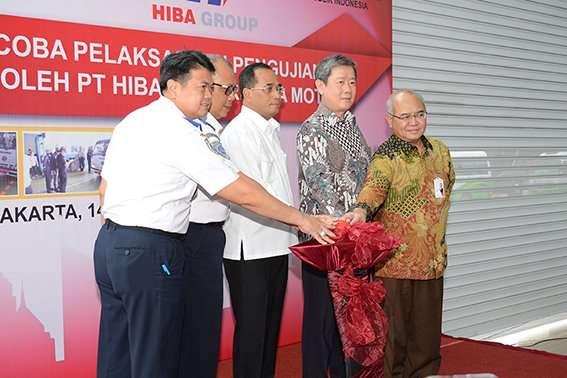 Dealer Hino Resmikan Fasilitas Uji KIR Senilai Rp 5 Miliar