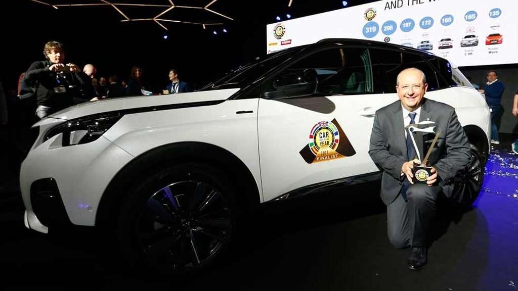 Peugeot 3008 Raih Gelar European Car of The Year 2017