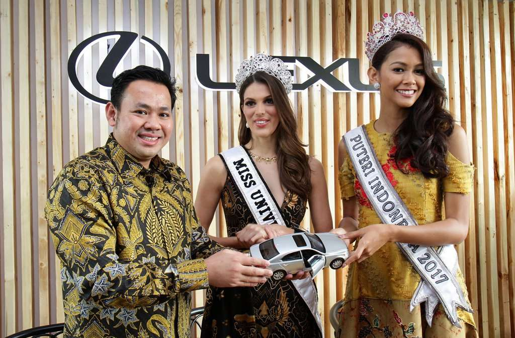 Lexus Indonesia Menghadirkan Miss Universe untuk Para Pelanggannya