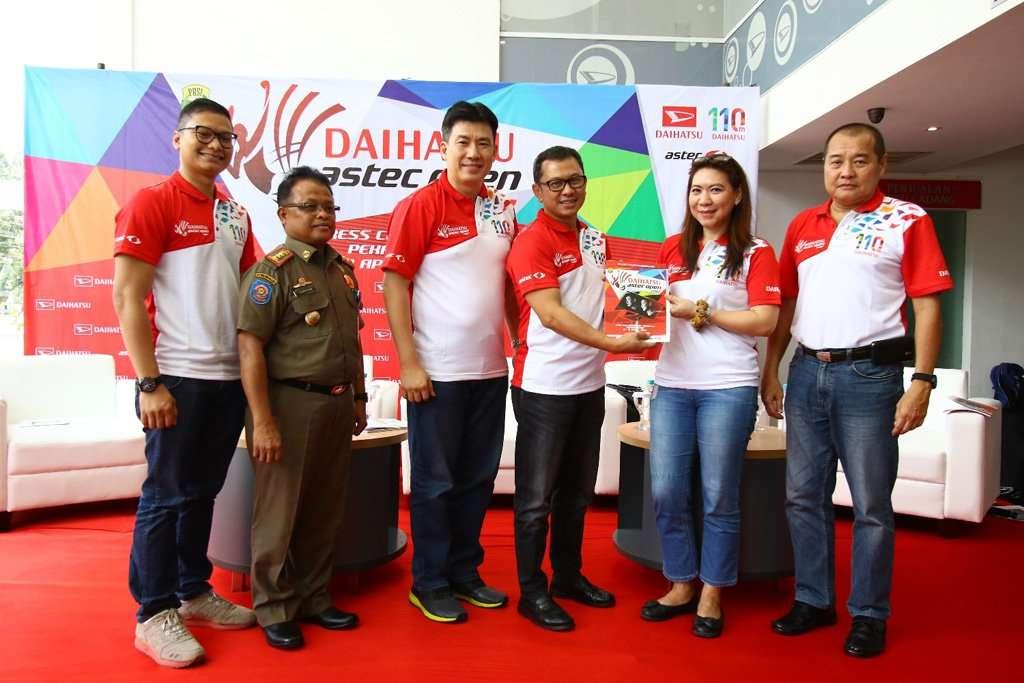 Turnamen Bulutangkis Daihatsu ASTEC Open 2017 Digelar di 7 Kota