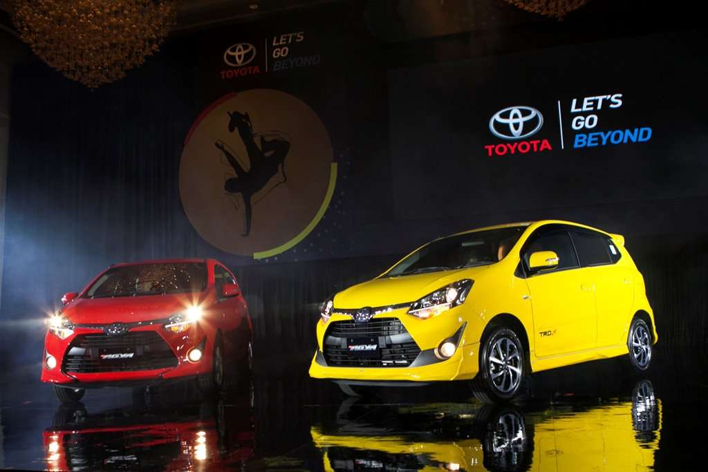 Toyota New Agya Hadir Makin Stylish dan 2 Pilihan Mesin