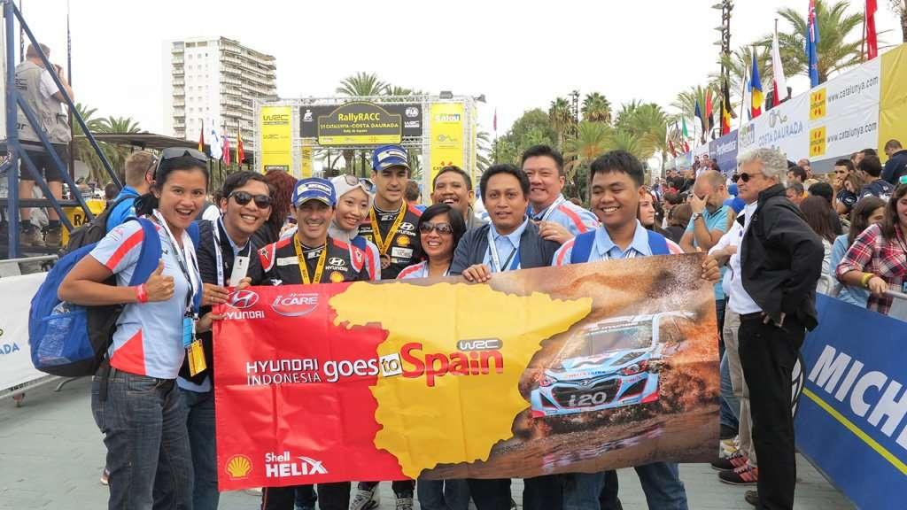Servis di Bengkel Resmi Hyundai, Bisa Nonton WRC di Spanyol