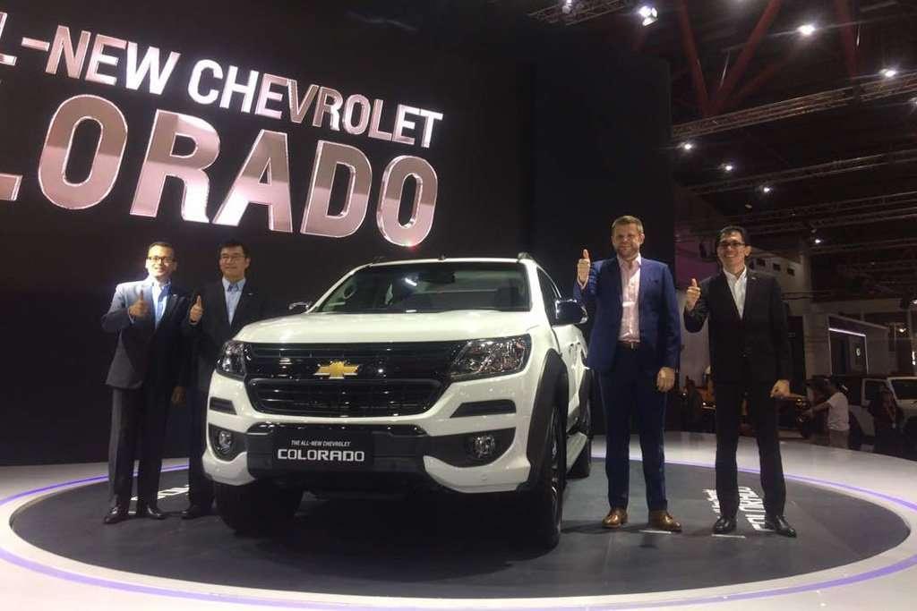 All New Chevrolet Colorado Diperkenalkan di IIMS 2017
