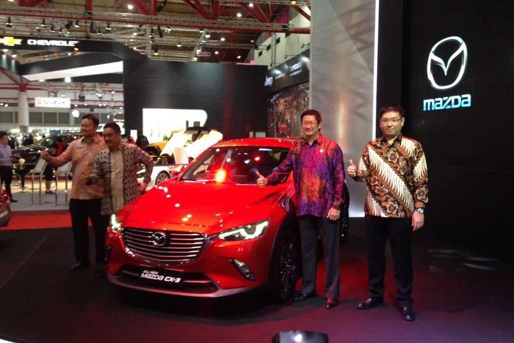Mazda Bawa 4 Mobil Unggulan ke IIMS 2017