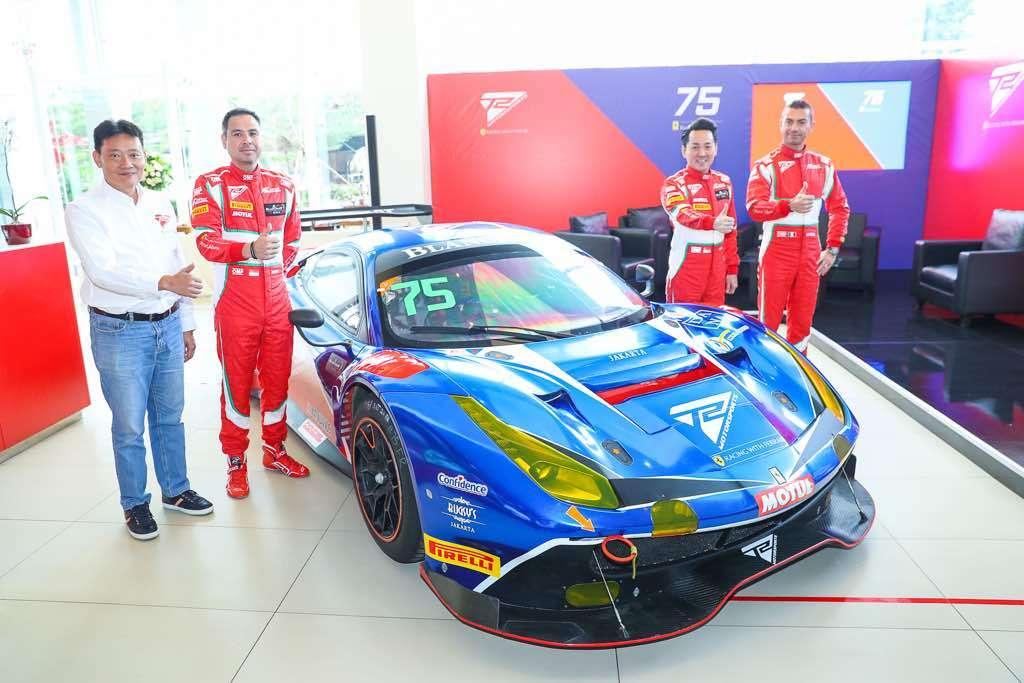 Tim Motorsport Ferrari Bentukan Orang Indonesia Meluncur Hari ini
