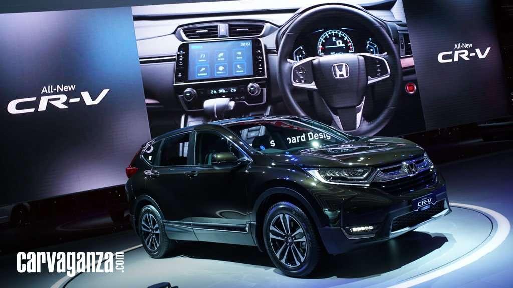 Ini Perbedaan 3 Varian All New Honda CR-V